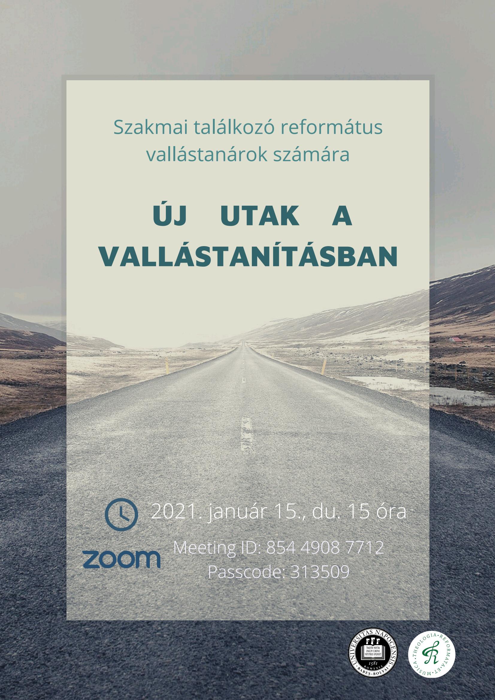 Új utak a vallástanításban (Noi drumuri în educația religioasă)