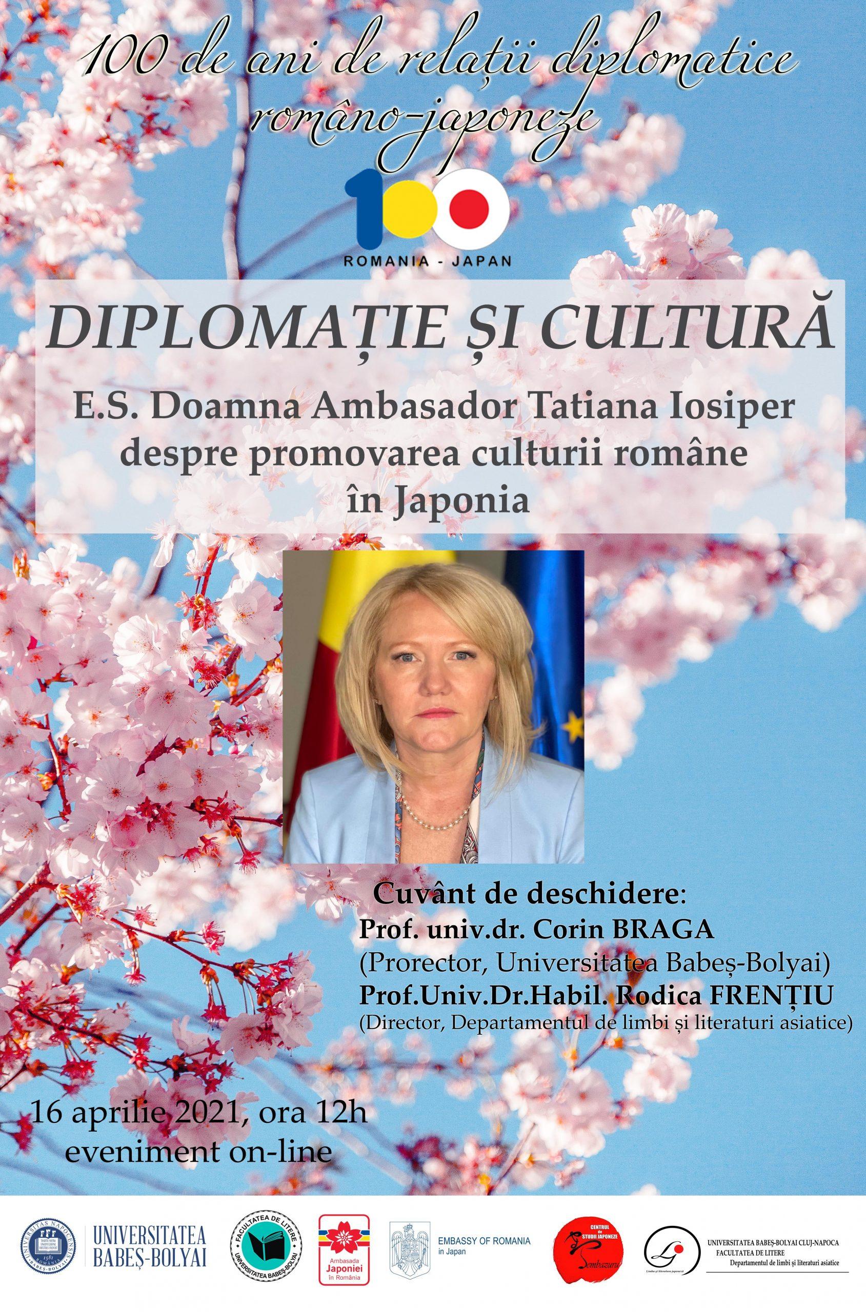 100 de ani de relații diplomatice româno-japoneze